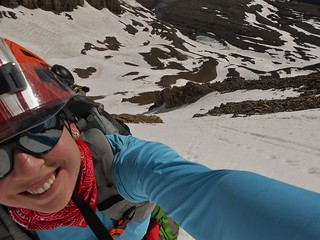 Smiles at the top of Boudoir Couloir