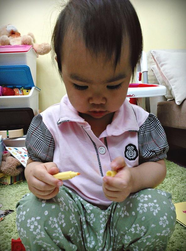 25幼兒蠟筆MUJI色筆