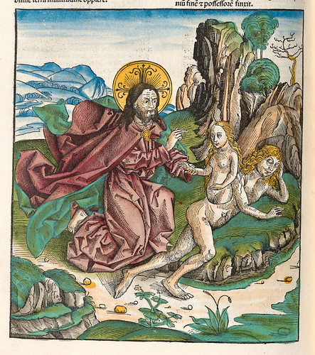 003- Primera edad del Mundo-Liber Chronicarum-1493-Biblioteca Estatal de Baviera
