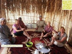 Coffee with Omani Locals - During 16 days Holiday 2013
