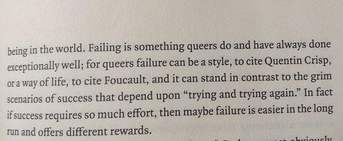 Failing is something queers do
