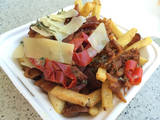 The porky fries - Bacon Bacon