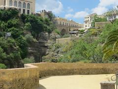 Ronda, Spain: Jardines Ciudad de Cuenca (park) views & continuing into more old town area