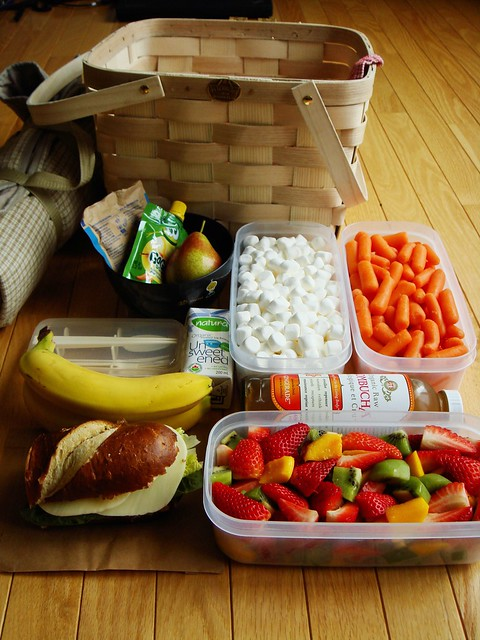 Road Trip Picnic Basket