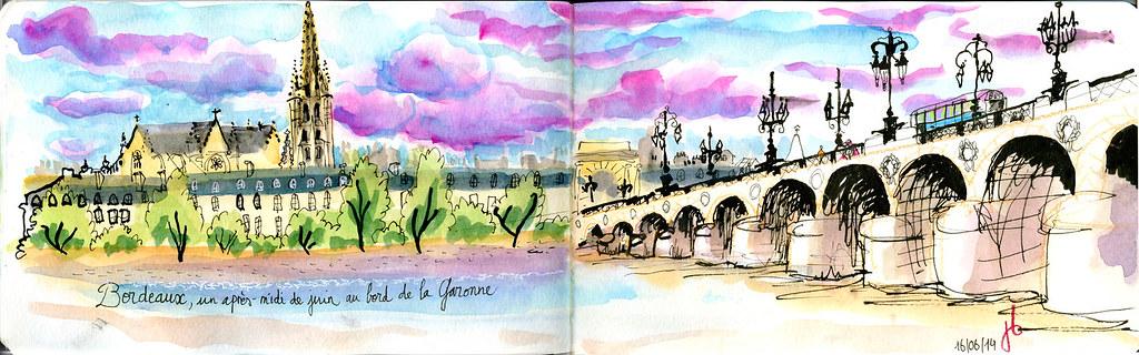 Vue sur Saint Michel