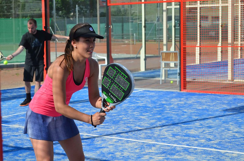 foto del partido del International Padel Challenge Berlin