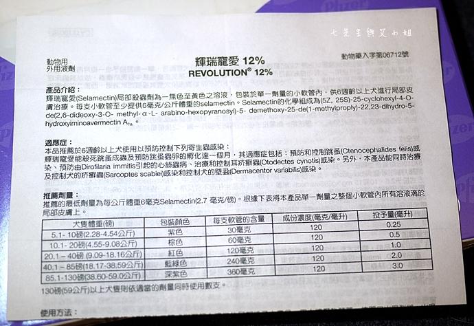 5 輝瑞寵愛 Revolution 12% 30mg