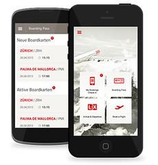 Aplikace SWISS pro nákup letenek
