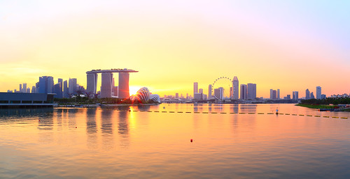 marinabaysands singaporeflyer濱海灣金沙酒店 singapore explore 寬景 panorama widescreen
