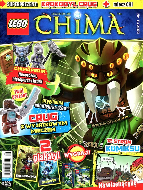 LEGO Legends of Chima Oficjalny Magazyn 2014-06 01