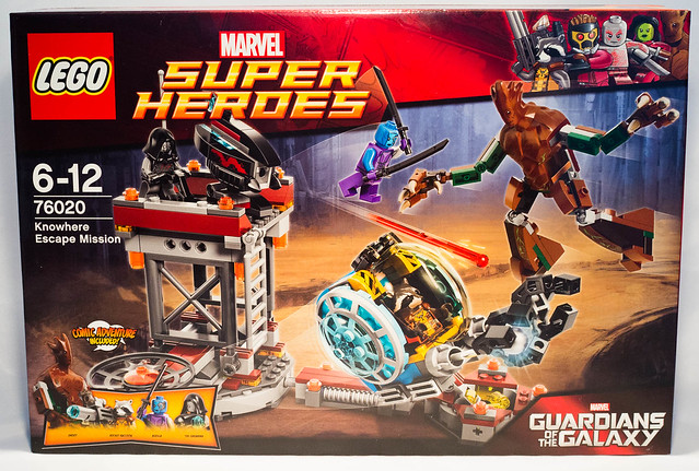 REVIEW LEGO 76020 Marvel Gardiens de la Galaxie - La mission d'évasion