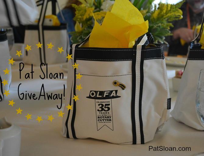 pat sloan olfa anniversary giveaway