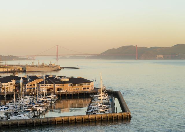 The Wharf at Dawn