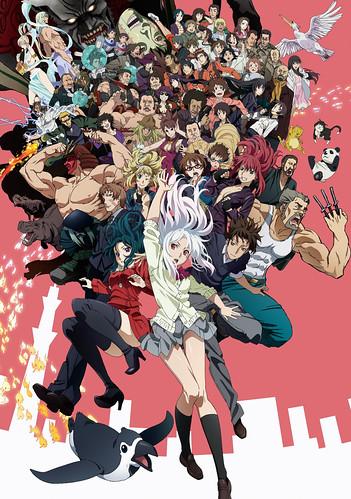 140603(1) - 超能力戰鬥漫畫《東京ESP》將於7/11放送電視動畫版、前作《食靈》女主角可望客串登場! 1