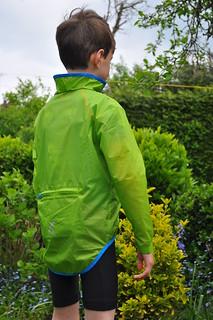 kids windproof cycling jacket