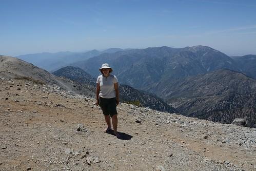Me Atop Mt Baldy