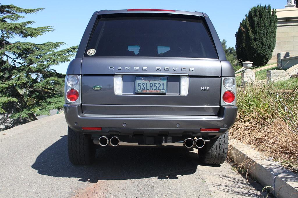 2004 Range Rover Exhaust Tip Upgrade
