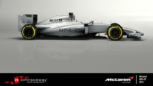 Mclaren MP4 29_Side