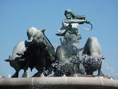 Gefionspringvandet or Gefion Fountain, by Anders Bundgaard, 1908