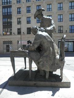 Monumento a Alberto Churriguera y al Conde Francos