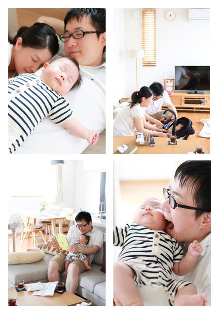 出張撮影 愛知県みよし市 自宅 住宅 赤ちゃん写真 家族写真 ベビーフォト 沐浴 ロケーションフォト