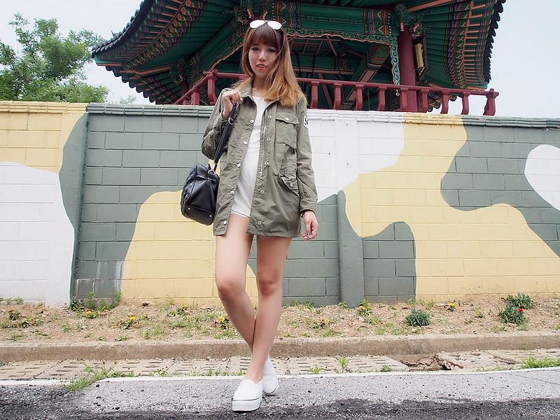 O1 Seoul Military Parka