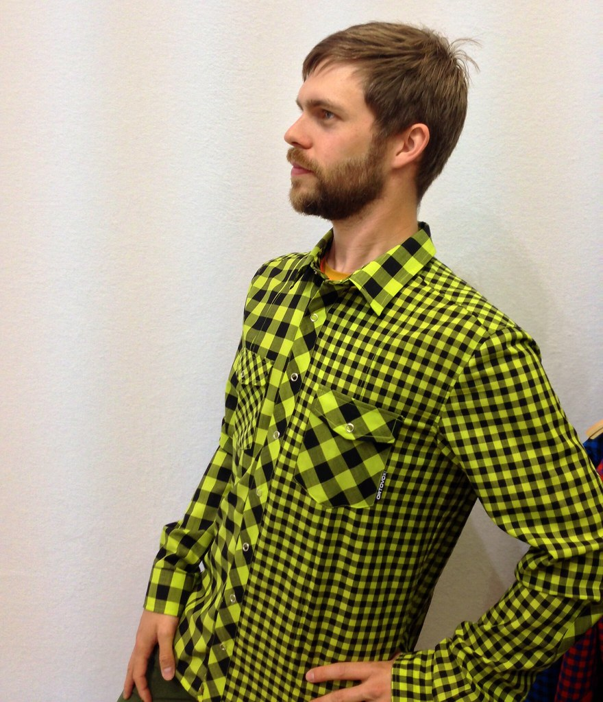 ORTOVOX Rock'N'Wool Double Check Shirt