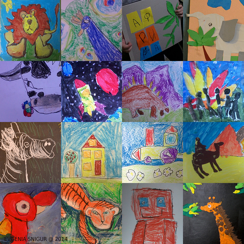 My pupils drawing digest, 4-5,5 year old