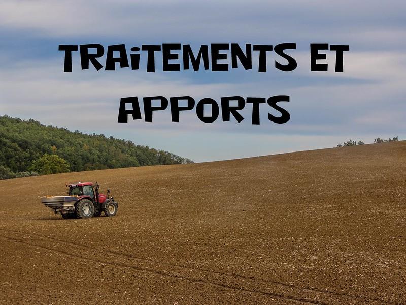 Apports et traitements