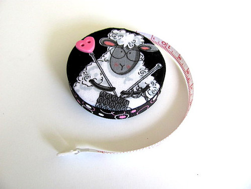 knitting lamb tape measure