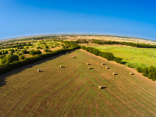 summer usa field us texas tx aerial hay frisco drone