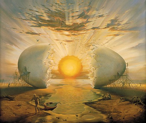 vladimir kush 12 egg sun