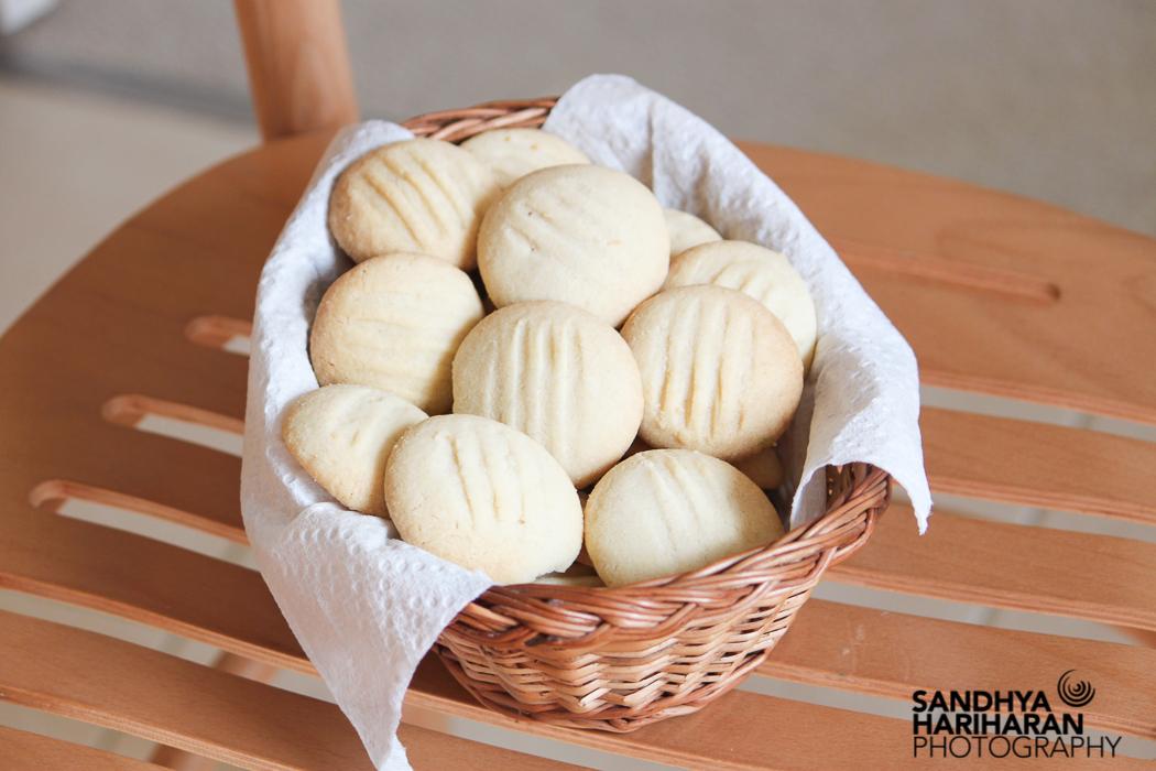 Eggless Shortbread cookies