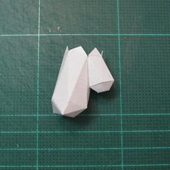 วิธีทำโมเดลกระดาษของเล่นคุกกี้รัน คุกกี้รสพ่อมด (Cookie Run Wizard Cookie Papercraft Model) 015