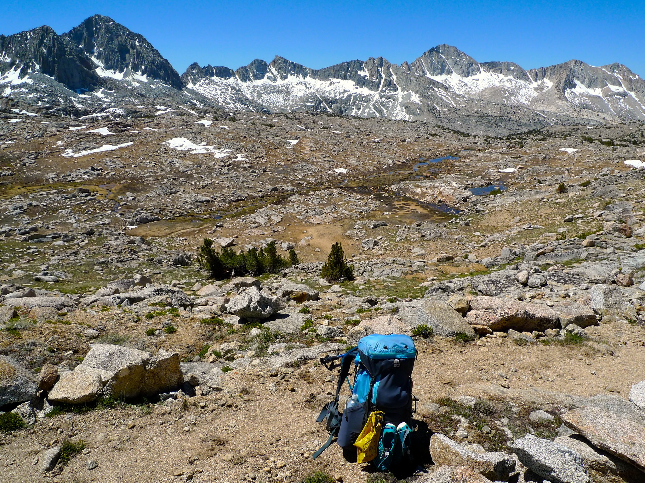 One last look at Dusy Basin