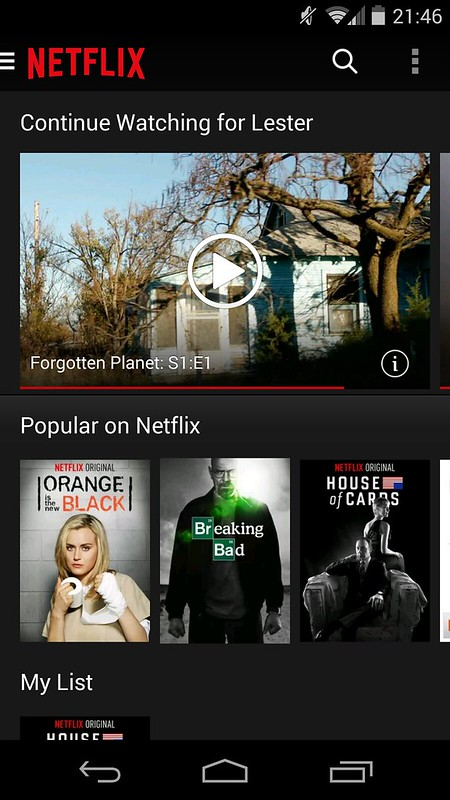 Netflix - Android App
