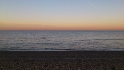 Dusk at Sea 1 (Dover to Deal)