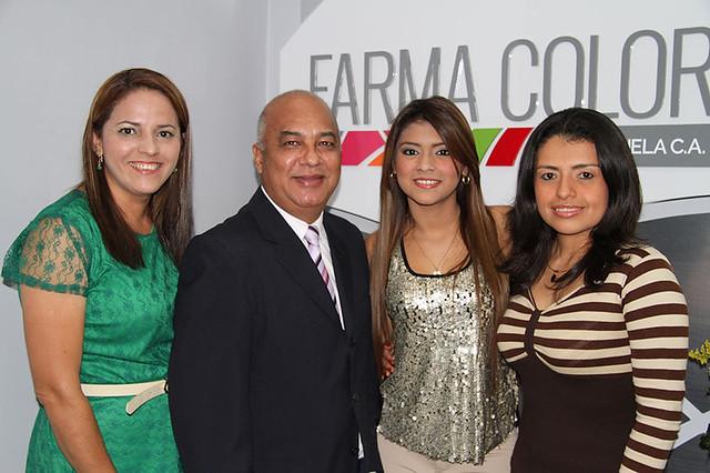 Nailibeth Chirinos, Douglas Perentena, Naylin Hernandez, Eliana Cabral