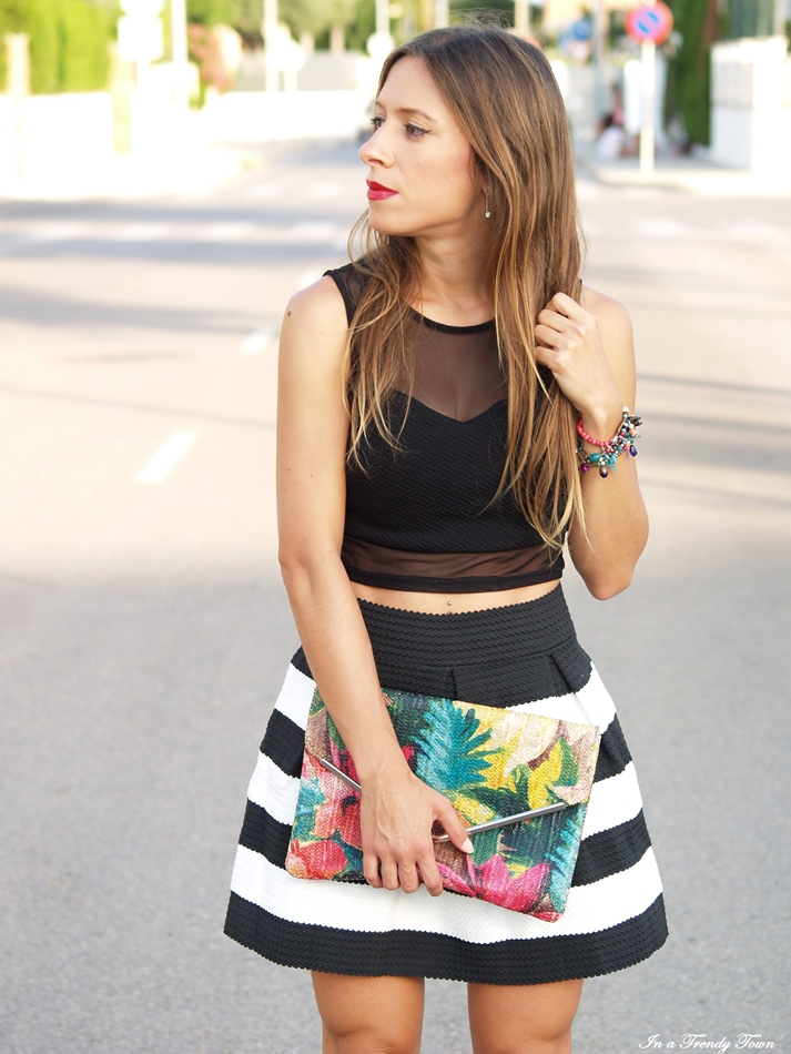 OUTFIT TROPICAL AND TOP