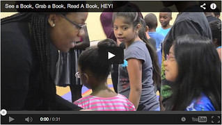 YouTube screenshot of See A Book video