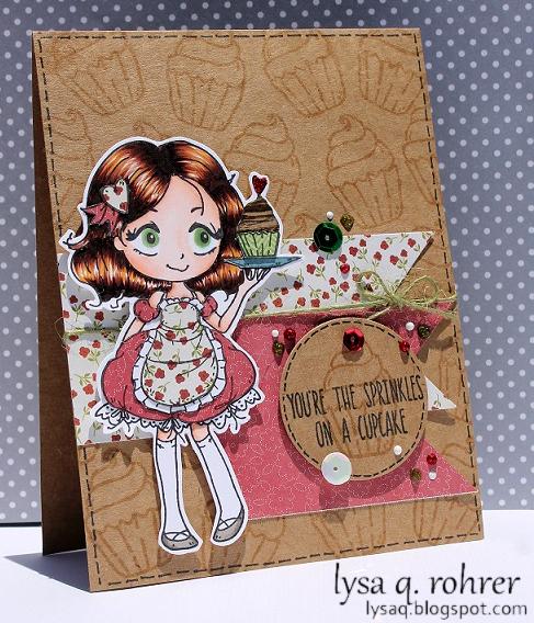 Dollie w/Cupcake