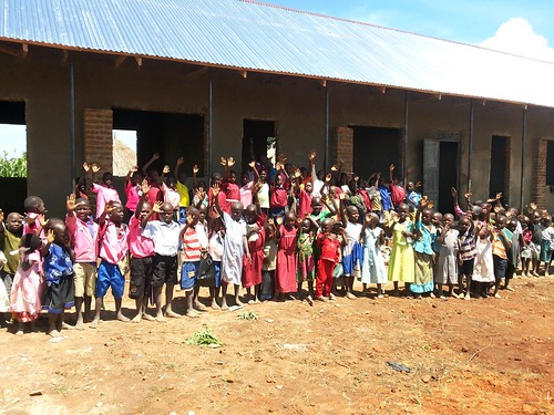 Funds raised for new rural primary school in Uganda; construction almost complete
