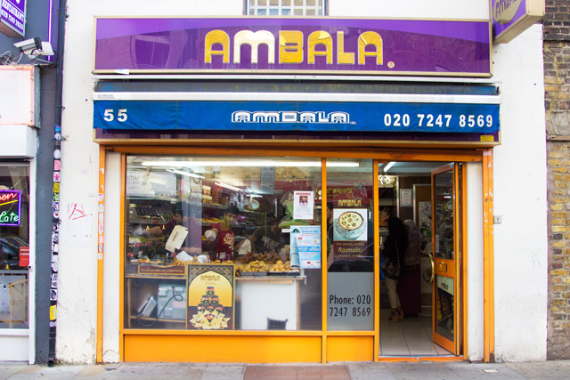 Ambala India deli Brick Lane