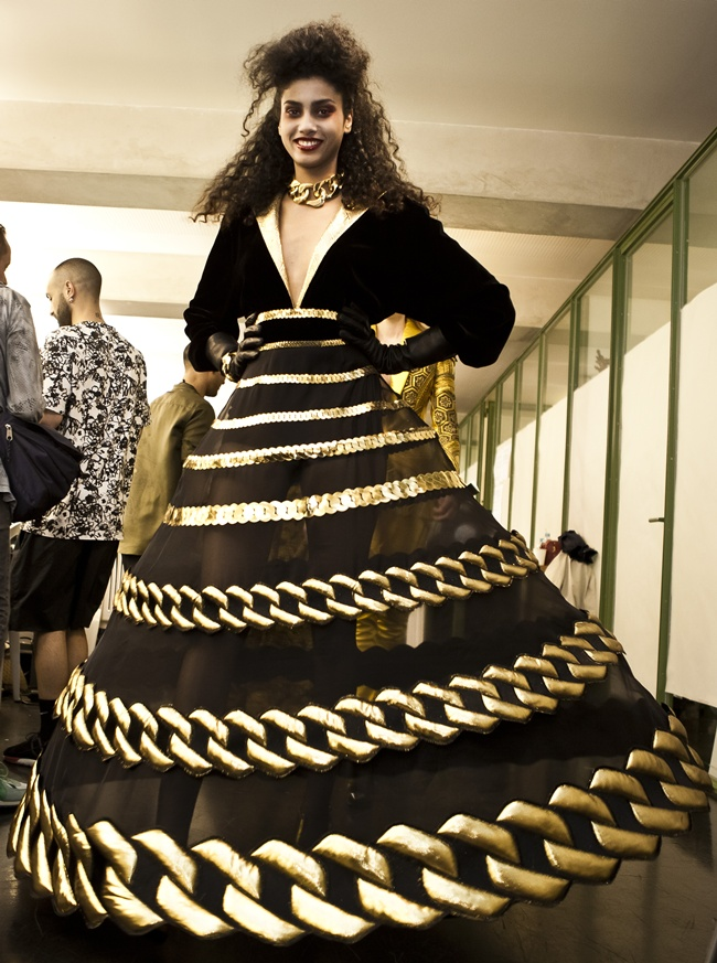 8 GAULTIER PARIS AH14_backstage(credit Rainer Torrado)