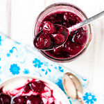 DIY Fresh Cherry Sauce