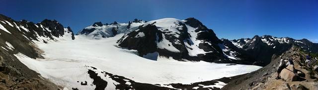 Mount Olympus And Blue Glacier