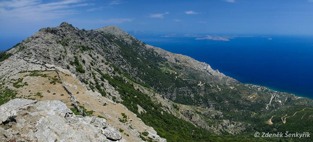Atheras ridge Ikaria Greece by  Zdenek Senkyrik, on Flickr