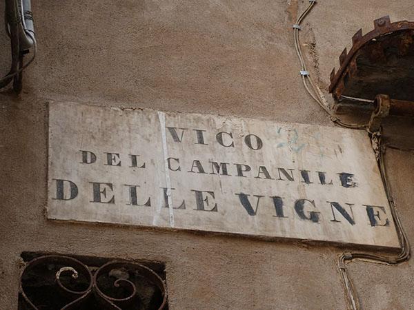 vico del campanile delle vigne