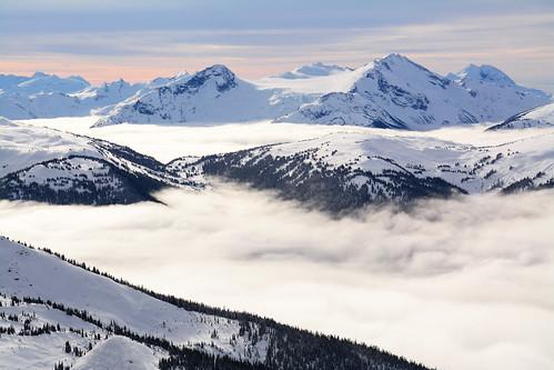 winter mountains whistler inversion blackcomb whistlerblackcomb fissile