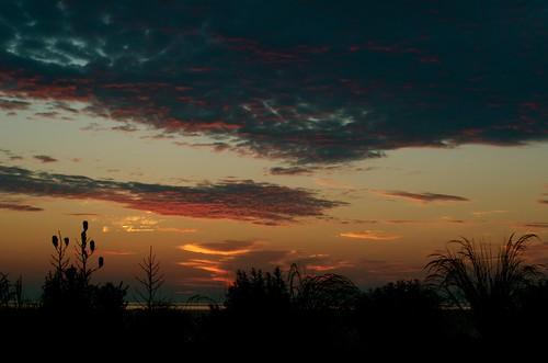 sunrise cloudy